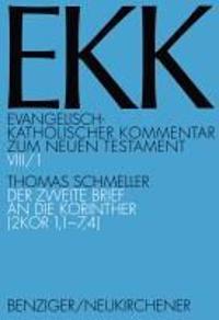 Der Zweite Brief an Die Korinther (2 Kor 1,1-7,4)