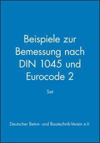 Set: Beispiele zur Bemessung nach DIN 1045 und Eurocode 2
