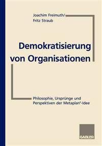 Demokratisierung Von Organisationen