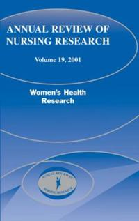 Annual Review of Nursing Research, 2001