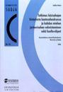 Tutkimus käsisahojen historiasta kaatosahauksessa ja kahden miehen justeerisahan valmistaminen sekä huolto-ohjeet