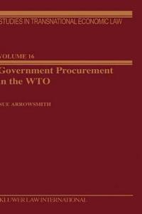 Government Procurement in the Wto