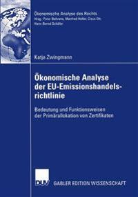 Okonomische analyse der EU-emissionshandelsrichtlinie