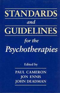 Standards & Guidelines for the Psychotherapies