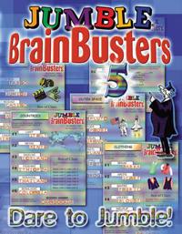 Jumble Brainbusters: Dare to Jumble!