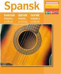 Spansk - svensk dansk norsk visuell ordbok