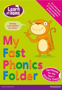 Learn at Home: My Fast Phonics Folder Pack