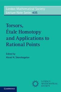Torsors, Etale Homotopy and Applications to Rational Points
