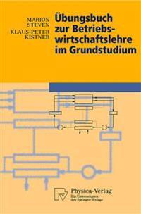 Ubungsbuch Zur Betriebswirtschaftslehre Im Grundstudium