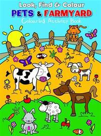 Look Find and Colour - Pets and Farmyard