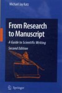 From Research to Manuscript