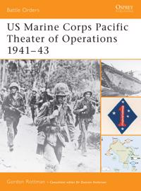 Us Marine Corps Pacific Theater of Operation, 1941-43