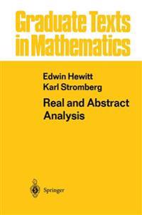 Real and Abstract Analysis