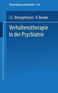 Verhaltenstherapie in Der Psychiatrie