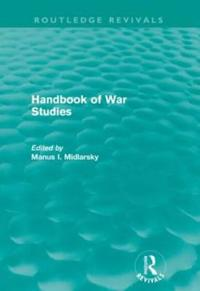 Handbook of War Studies