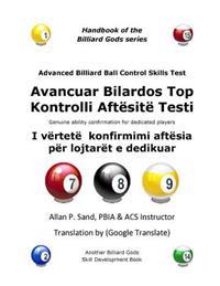 Advanced Billiard Ball Control Skills Test (Albanian): Genuine Ability Confirmation for Dedicated Players