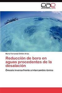 Reduccion de Boro En Aguas Procedentes de La Desalacion
