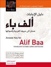 Alif Baa Answer Key