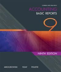 RTO Accounting: Basic Reports