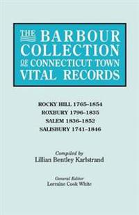 The Barbour Collection of Connecticut Town Vital Records. Volume 37
