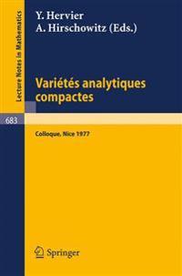 Varietes Analytiques Compactes