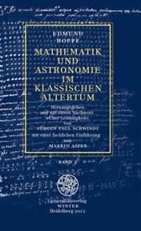 Mathematik Und Astronomie Im Klassischen Altertum: Band 2