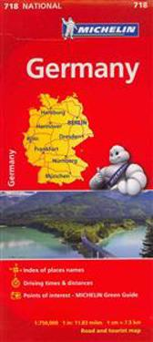 Michelin Germany Map 718
