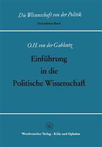 Einführung in Die Politische Wissenschaft