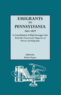 Emigrants to Pennsylvania, 1641-1819