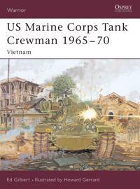 Us Marine Corps Tank Crewman, 1965-70