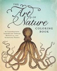 The Art of Nature Adult Coloring Book
