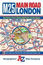 M25 Main Road Map of London