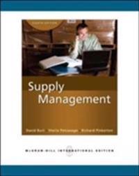 Supply management (intl ed)