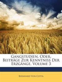 Gangstudien, Oder, Beiträge Zur Kenntniss Der Erzgänge, Volume 3