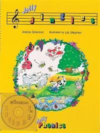 Jolly jingles (book and cd) - in precursive letters (be)