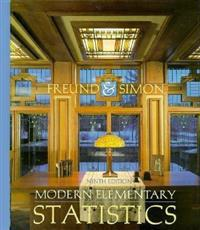 Modern Elementary Statistics, Revised