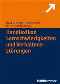 Handlexikon Lernschwierigkeiten Und Verhaltensstorungen