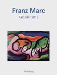 Franz Marc 2012. Kunstkarten-Einsteckkalender