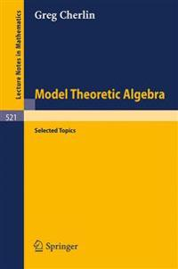 Model Theoretic Algebra