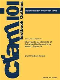 Studyguide for Elements of Advanced Mathematics by Krantz, Steven G.
