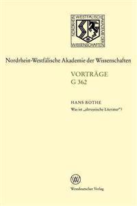 """Was ist """"Altrussische Literatur""""?"""