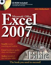 Excel 2007 Bible [With CDROM]