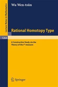 Rational Homotopy Type