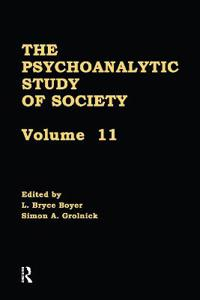 Psychoanalytic Study of Society