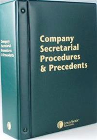 Butterworths Company Secretarial Procedures and Precedents