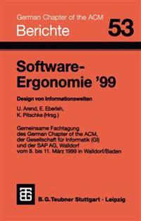 Software-Ergonomie '99