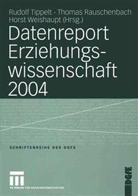 Datenreport Erziehungswissenschaft 2004