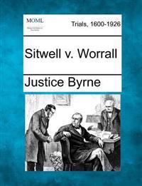 Sitwell V. Worrall