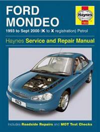 Ford Mondeo Petrol (93 - Sept 00) K To X