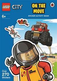 LEGO City: On The Move Sticker Activity Book